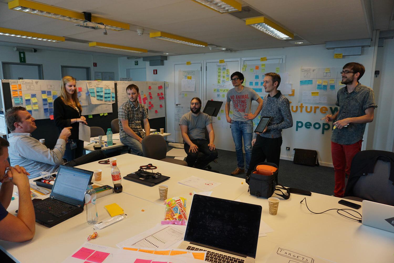 Co creation workshop of start up Neoscores