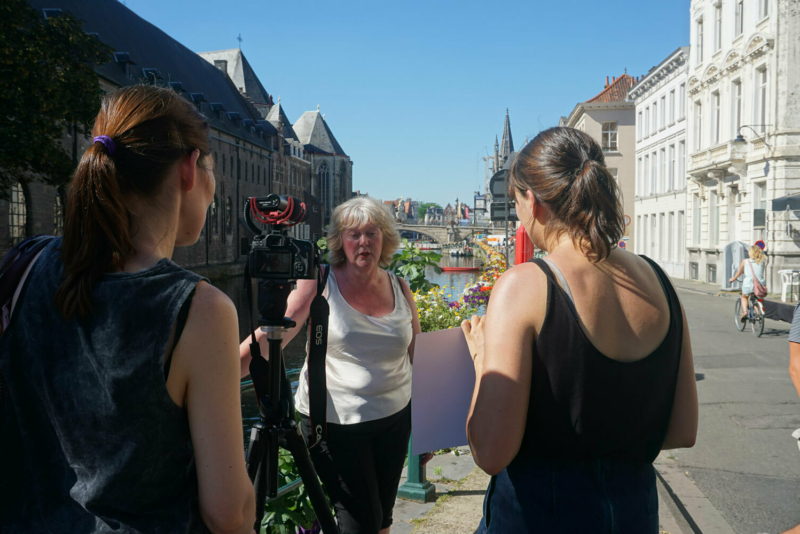 Qualitative research streetinterview for the department of work and social economy