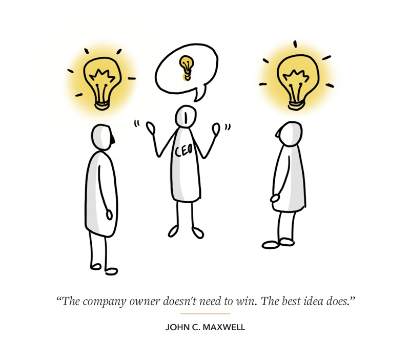 Idea CEO quote