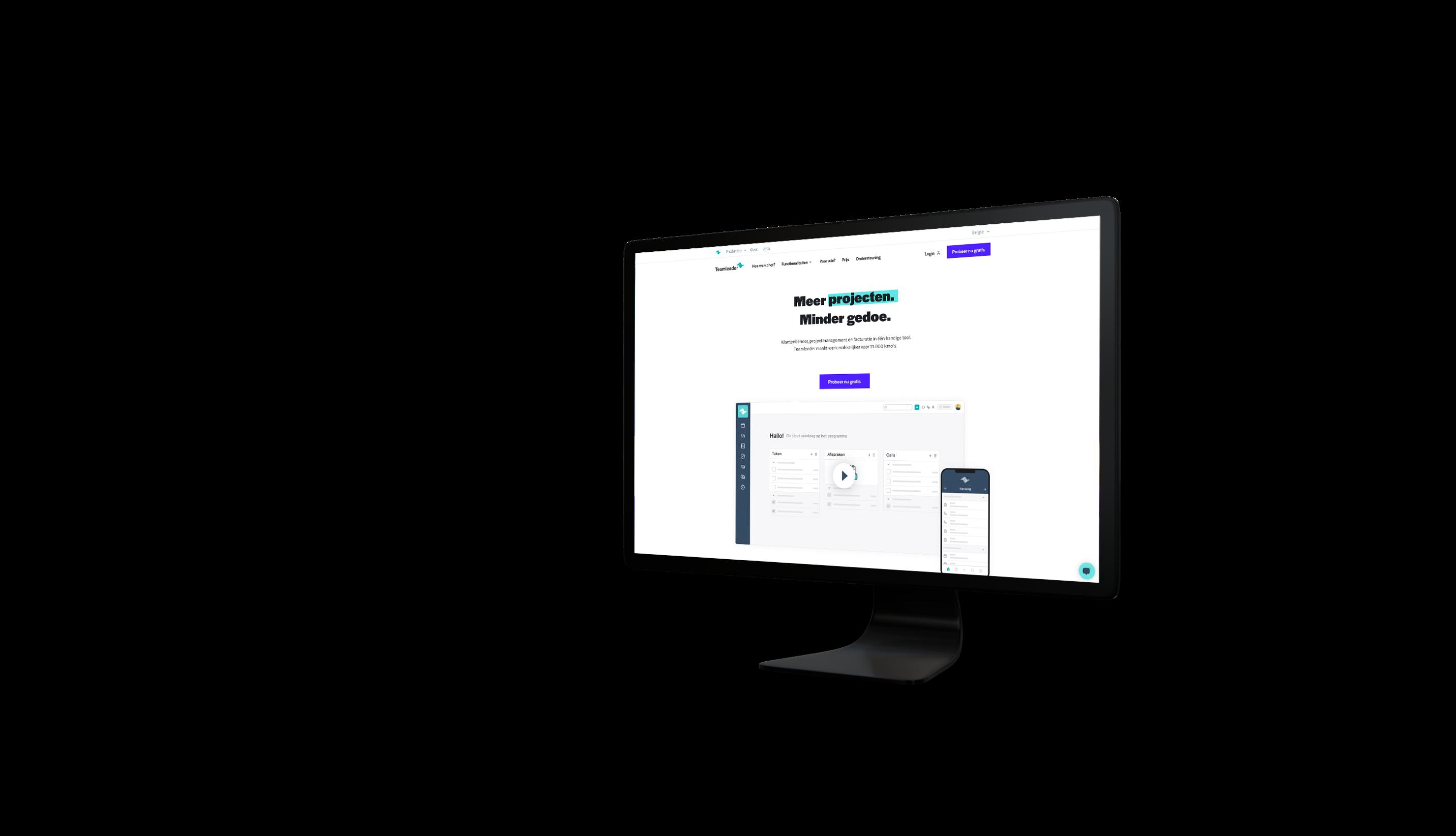 Teamleader website